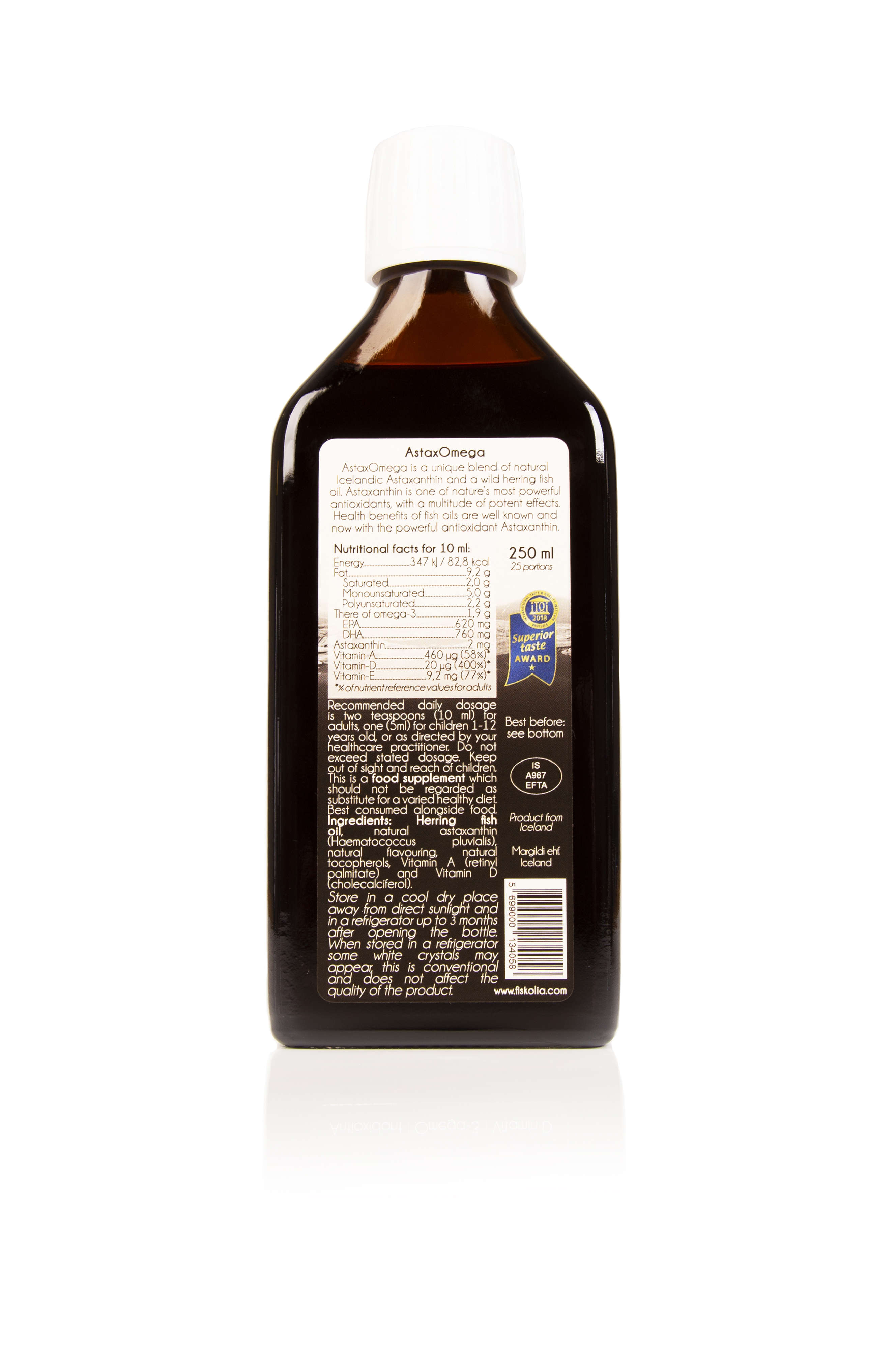 Astaxomega with Antioxidant 250ml (Currently Unavailable)