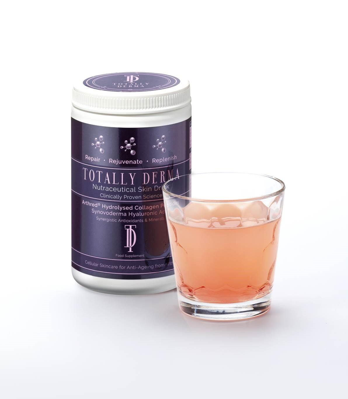 Totally Derma Nutraceutical Collagen Drink 360g