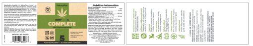 HempCeutix Complete 5mg Phytocannabinoids 60's