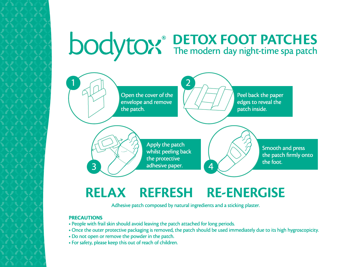 Detox Foot Patches 6 Patches