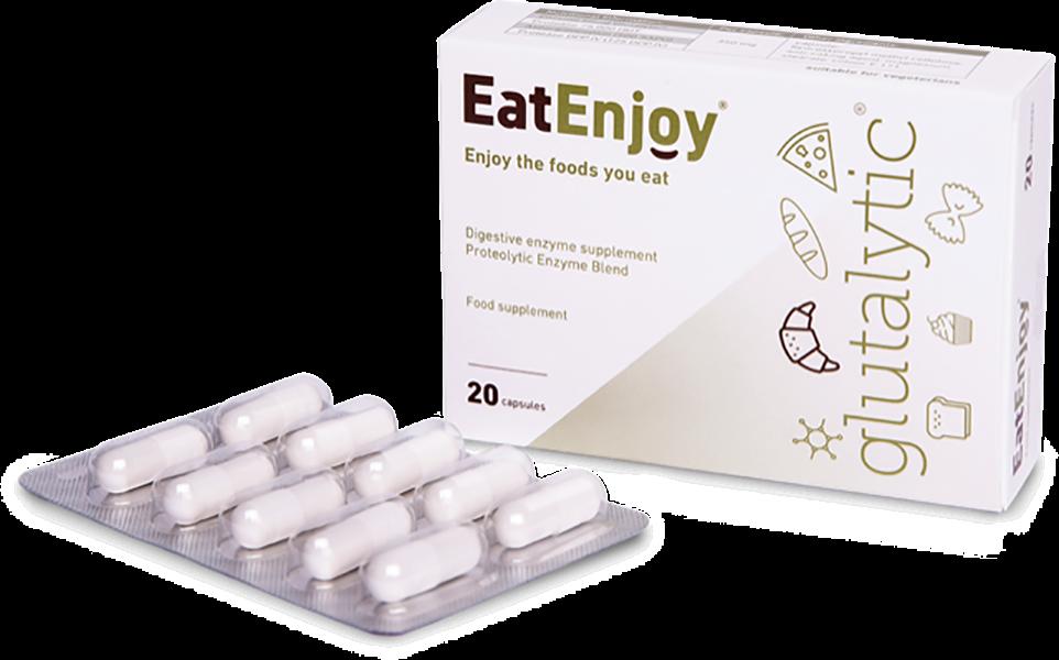 EatEnjoy Glutalytic (Formerly Gluten Digestive Enzyme) 20's