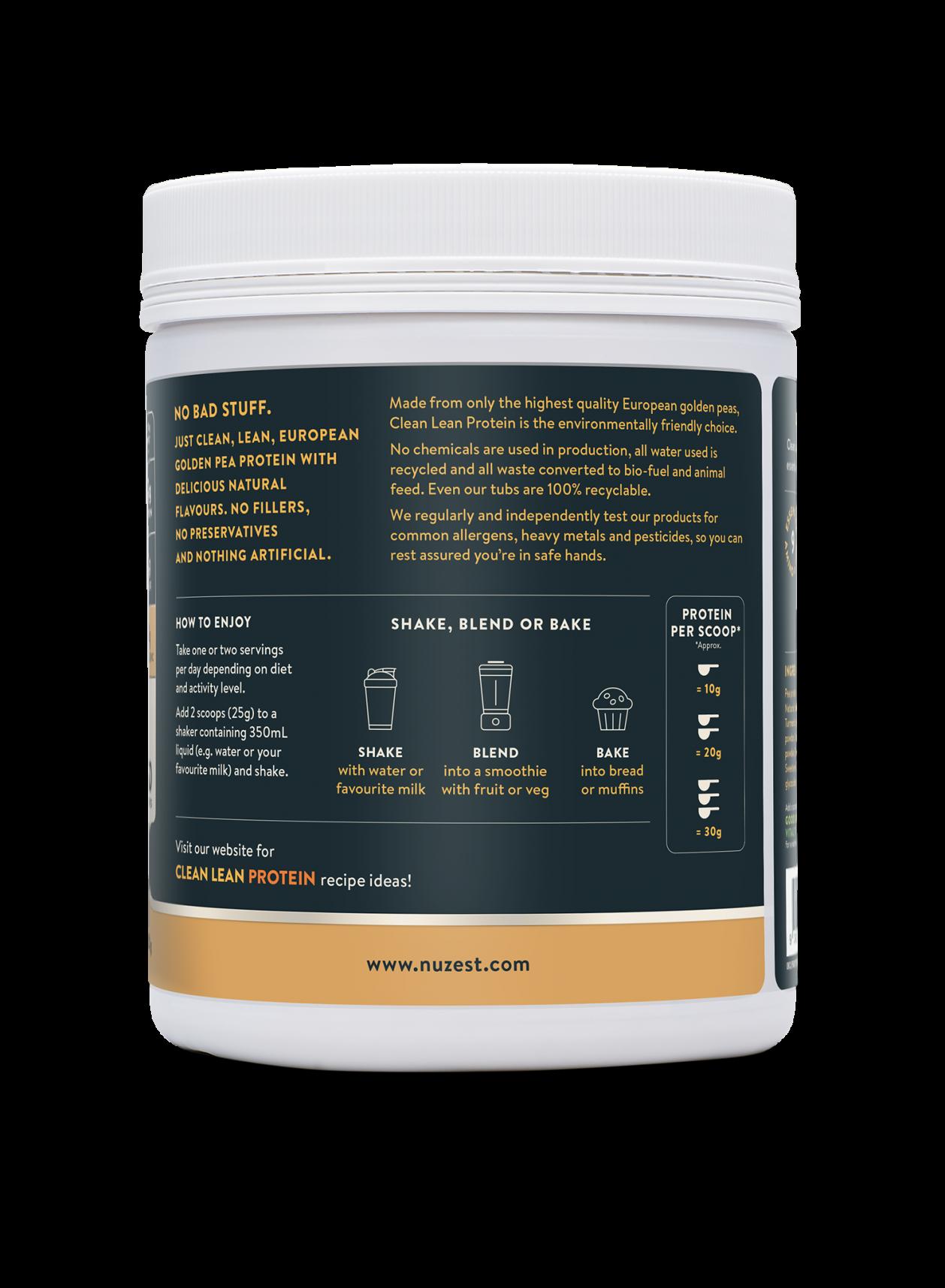 Clean Lean Protein Chai Turmeric + Maca 500g