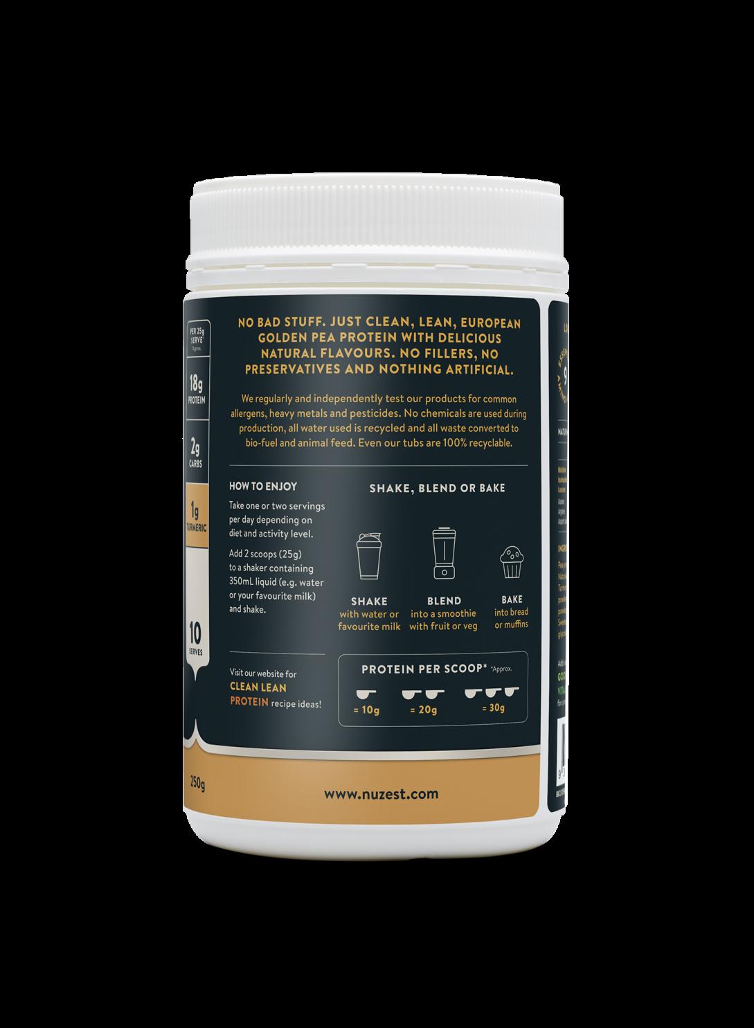 Clean Lean Protein Chai Turmeric + Maca 250g