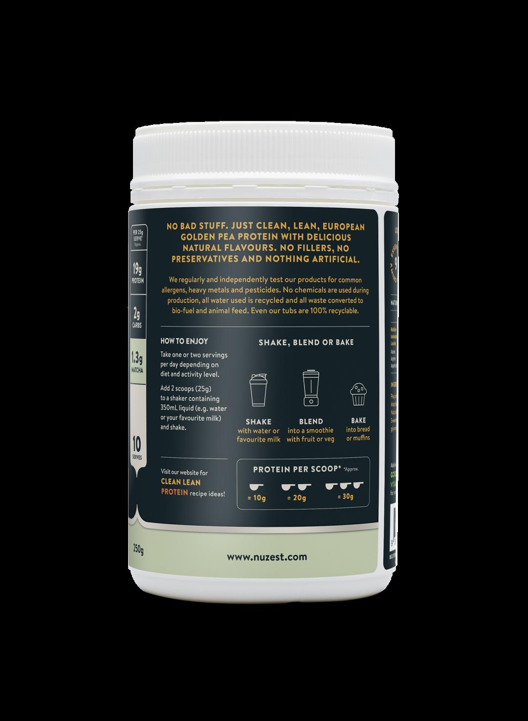 Clean Lean Protein Vanilla Matcha 250g