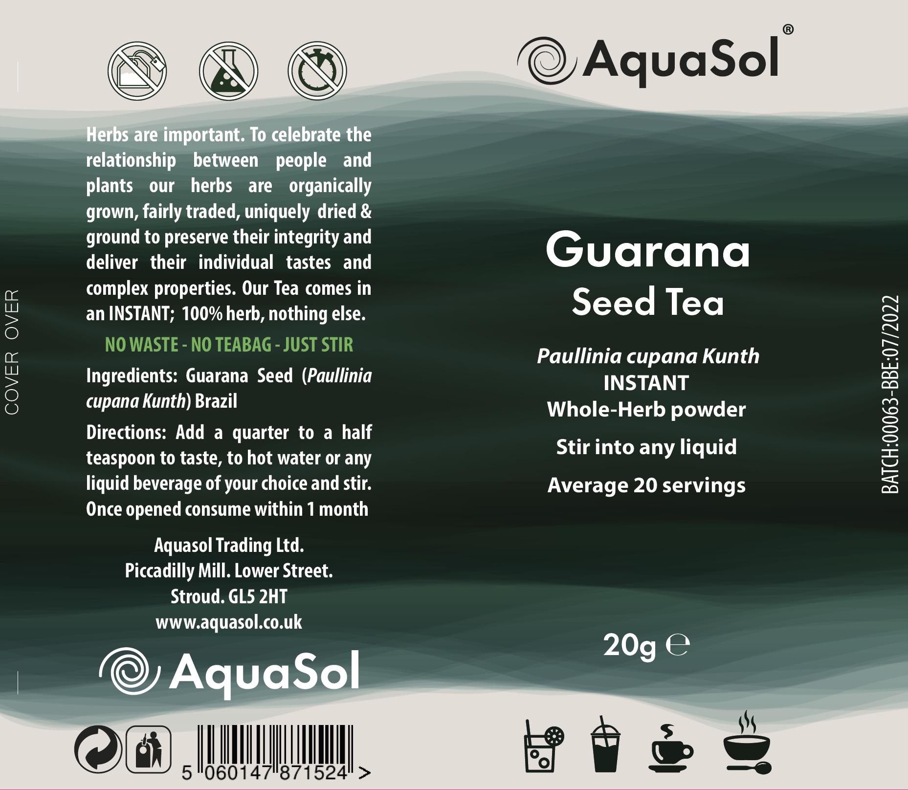 Guarana Seed Tea 20g