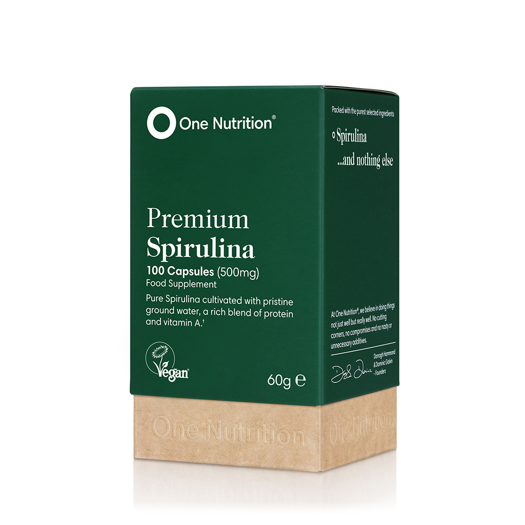 Premium Spirulina 500mg 100's