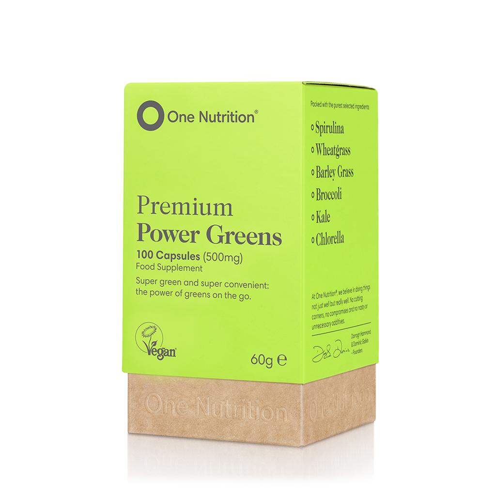 Premium Power Greens 500mg 100's
