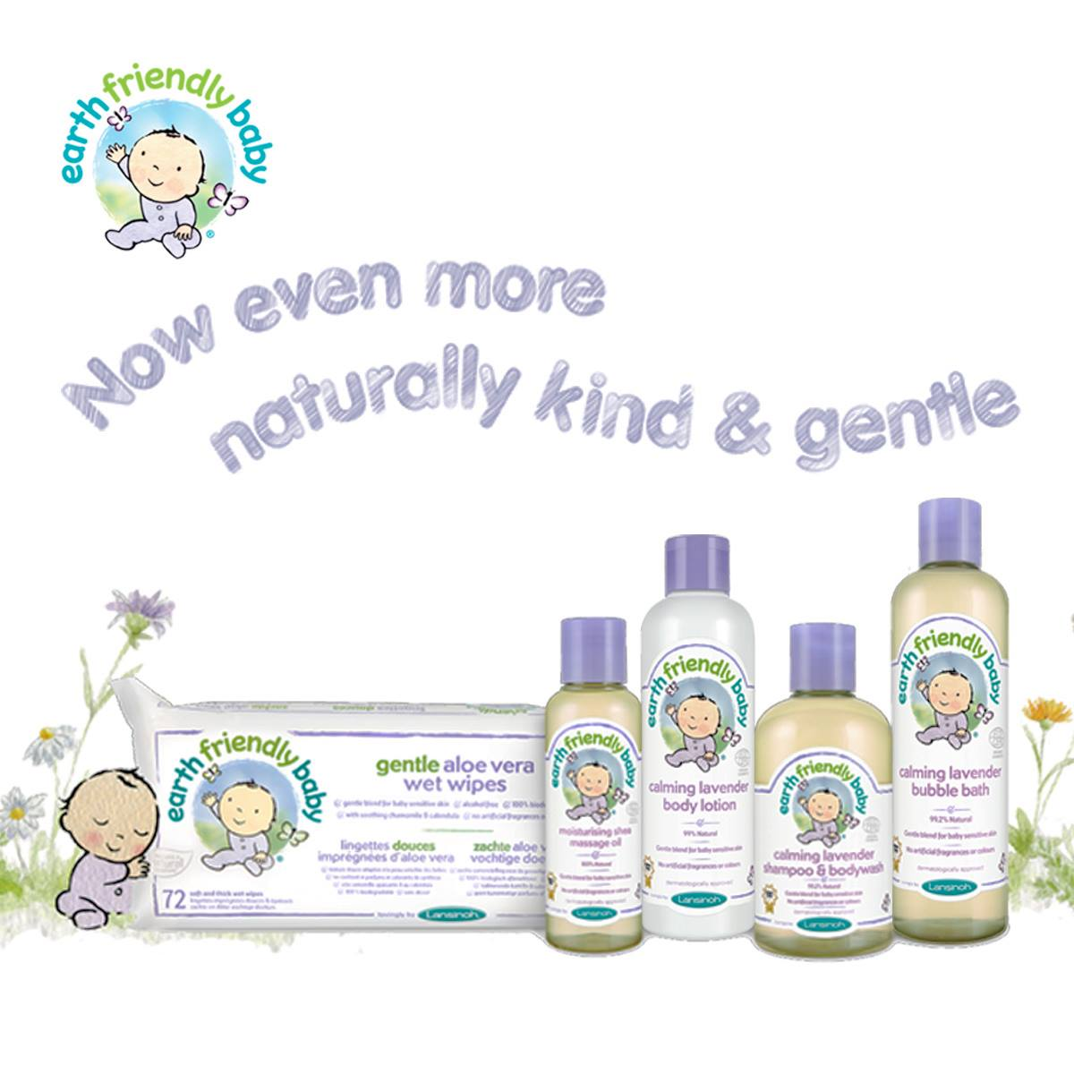 Calming Lavender Shampoo & Bodywash (Baby) 250ml