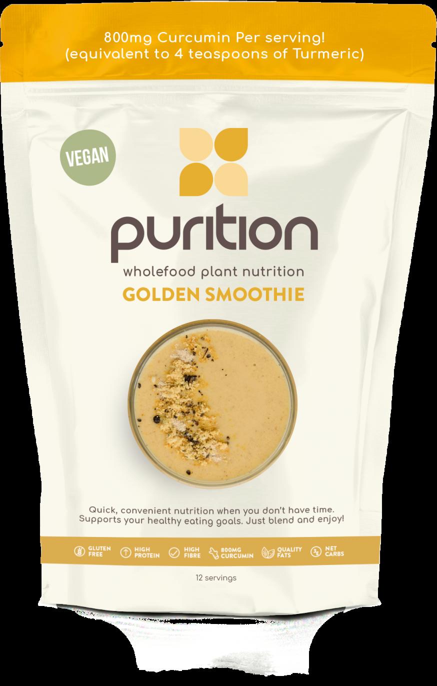 VEGAN Wholefood Plant Nutrition Curcumin & Black Pepper 500g