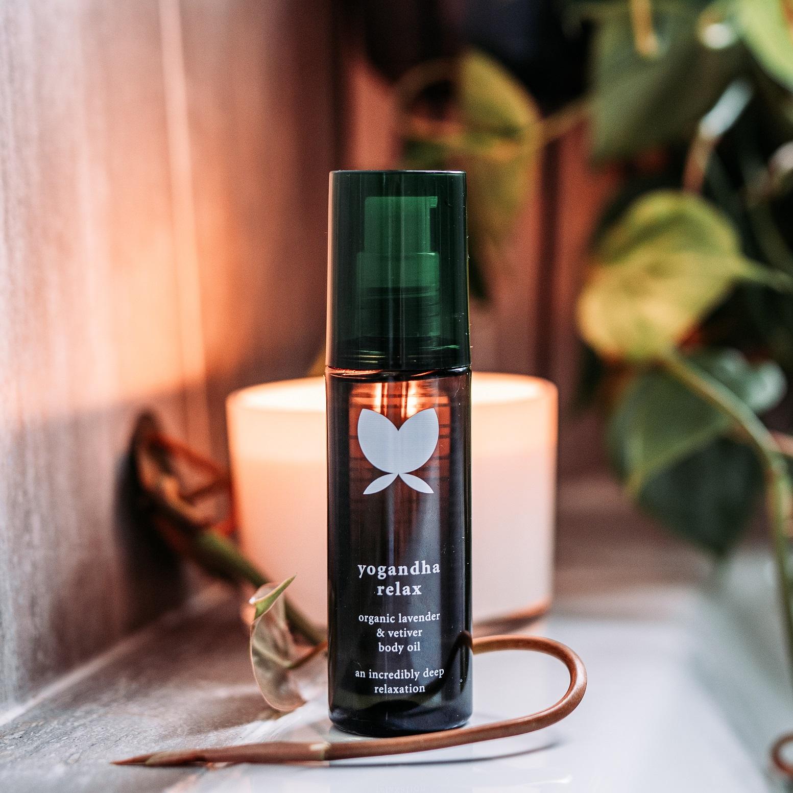 Relax Organic Lavender & Vetiver Body Oil 125ml
