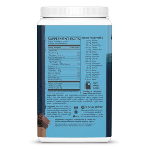 Clean Keto Protein Peptides Chocolate 720g