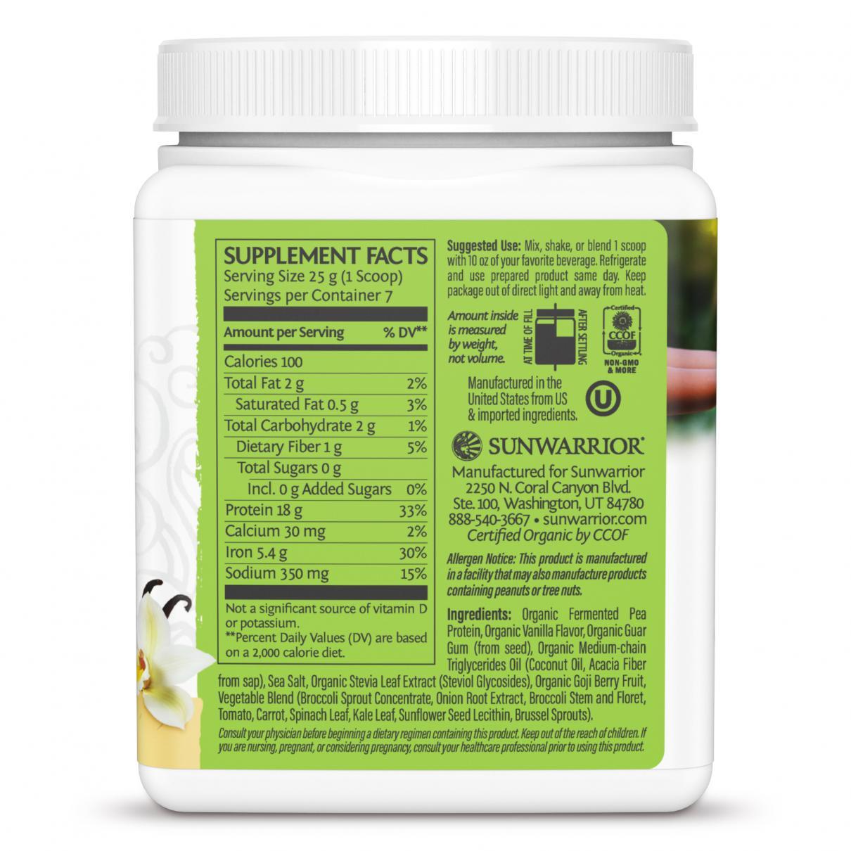 Clean Greens & Protein Tropical Vanilla 175g