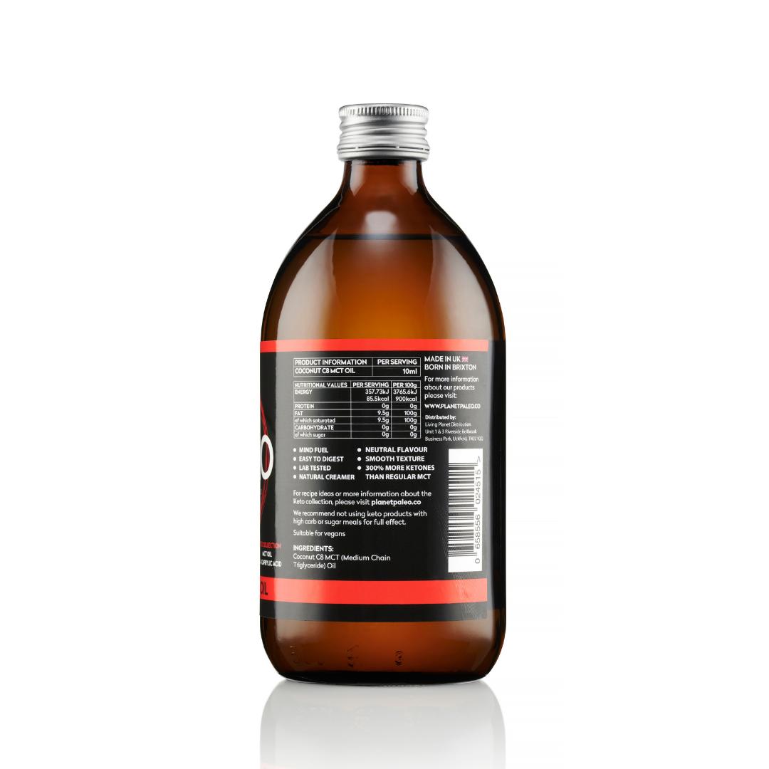 Keto C8 MCT Oil 500ml