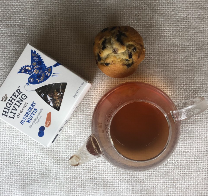 Blueberry Muffin 20 Biodegradable Teapees