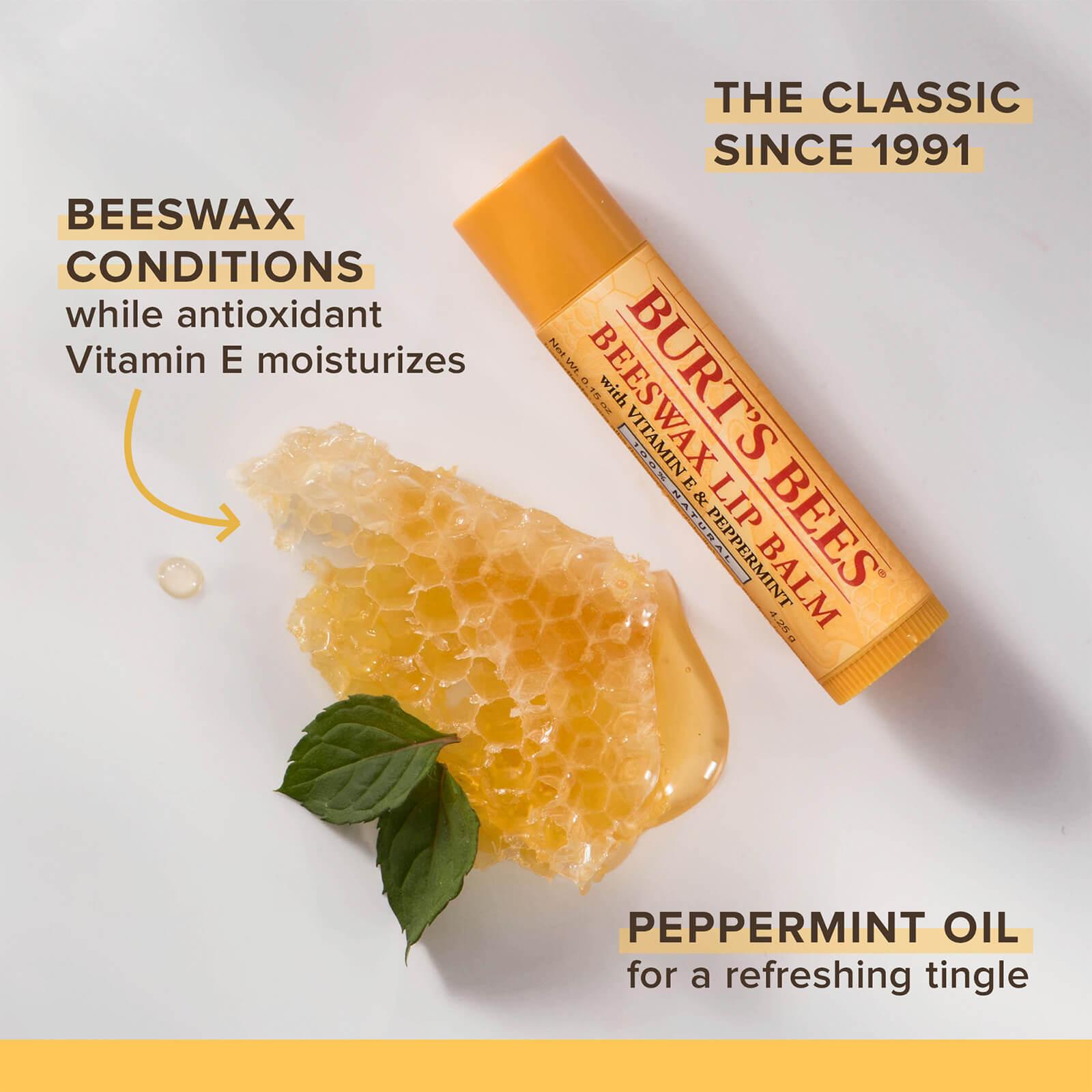 Beeswax & Honey Lip Balm 4 Pack
