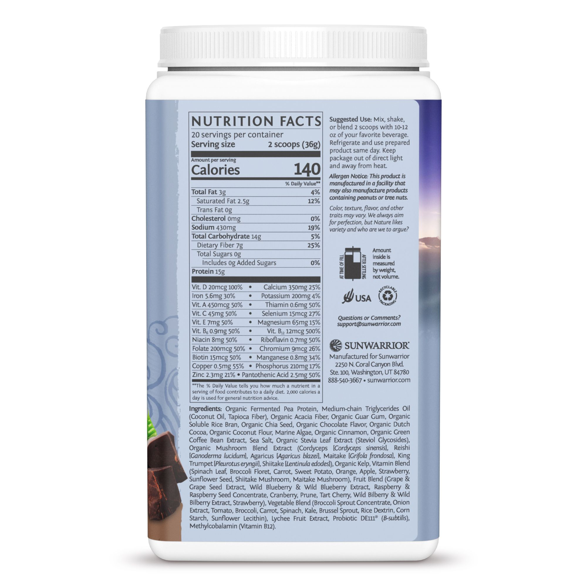 Lean Meal Chocolate 720g