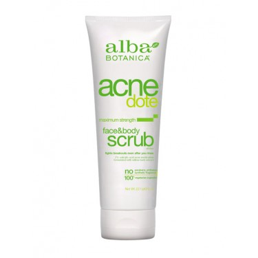 Acne Dote Face & Body Scrub 227g