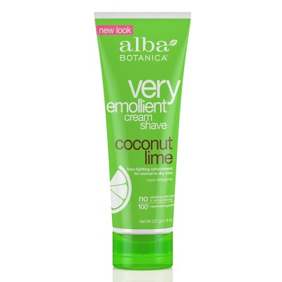 Very Emollient Cream Shave Coconut Lime 227g