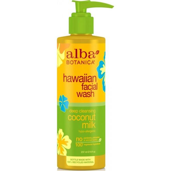 Hawaiian Facial Wash Coconut Milk 237ml