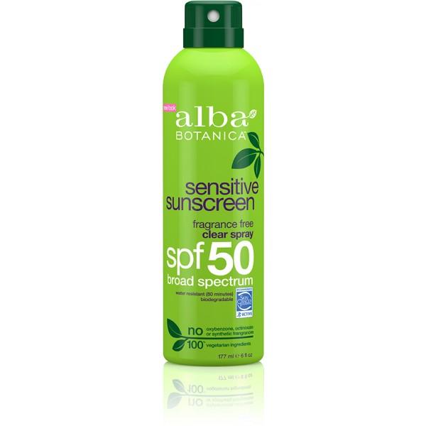 Sensitive Sunscreen Fragrance Free Clear Spray SPF50 171g