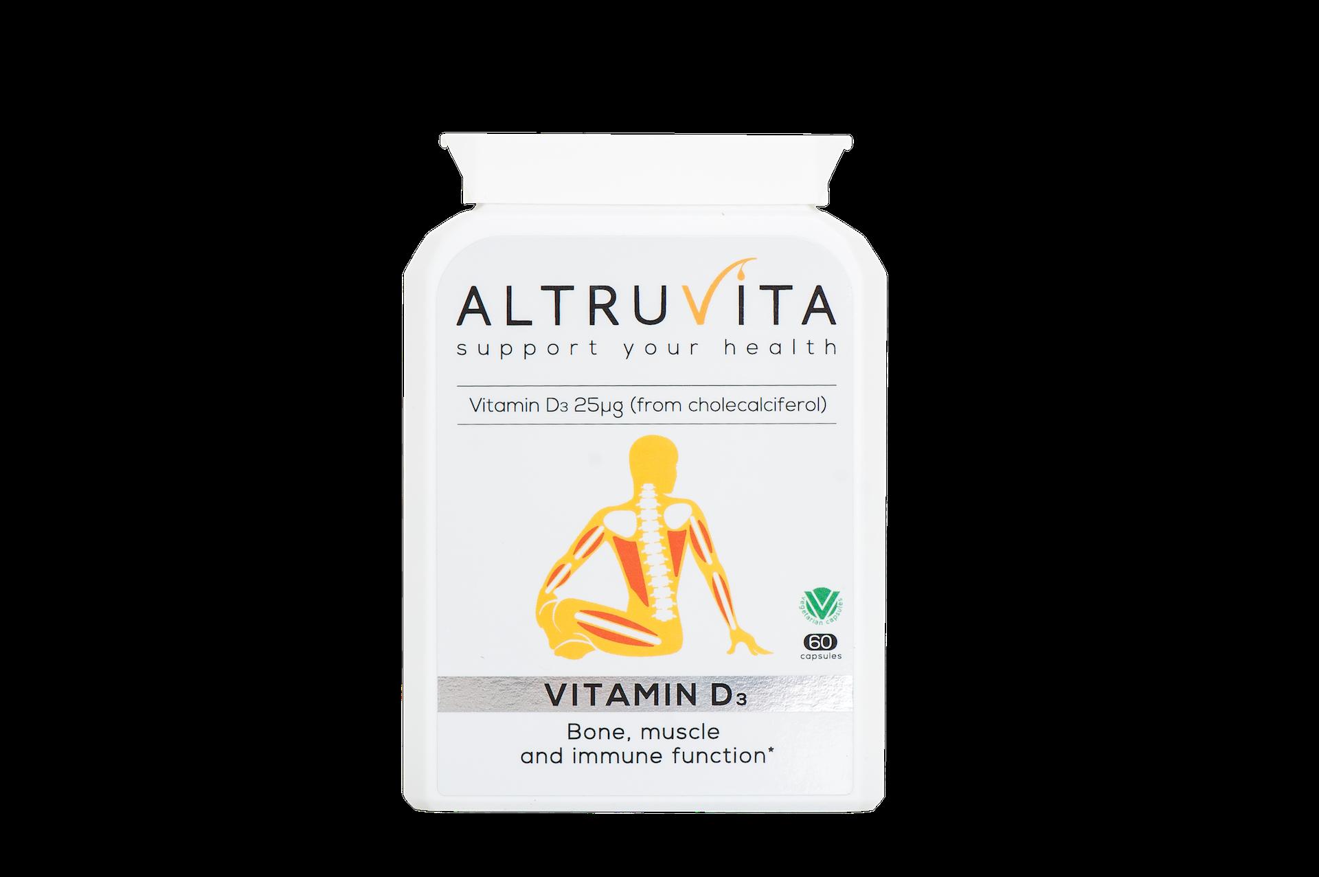 Vitamin D3 60's