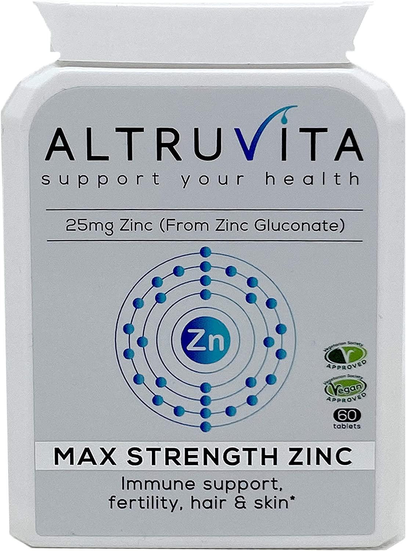 Max Strength Zinc 60's
