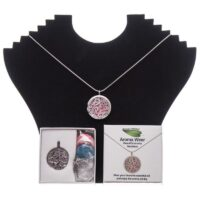 Aroma Wear Swirl (Pink) Necklace