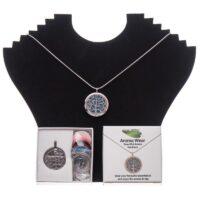 Aroma Wear Tree (Blue) Necklace