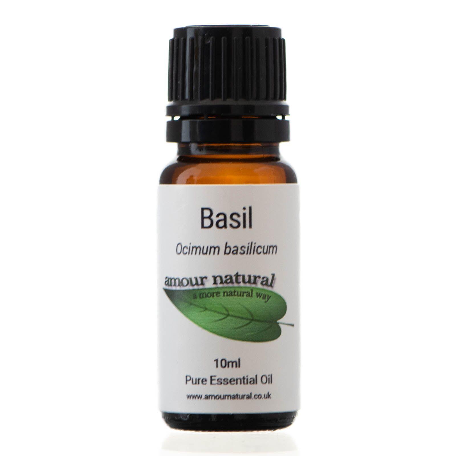 Basil Pure Essential Oil 10ml