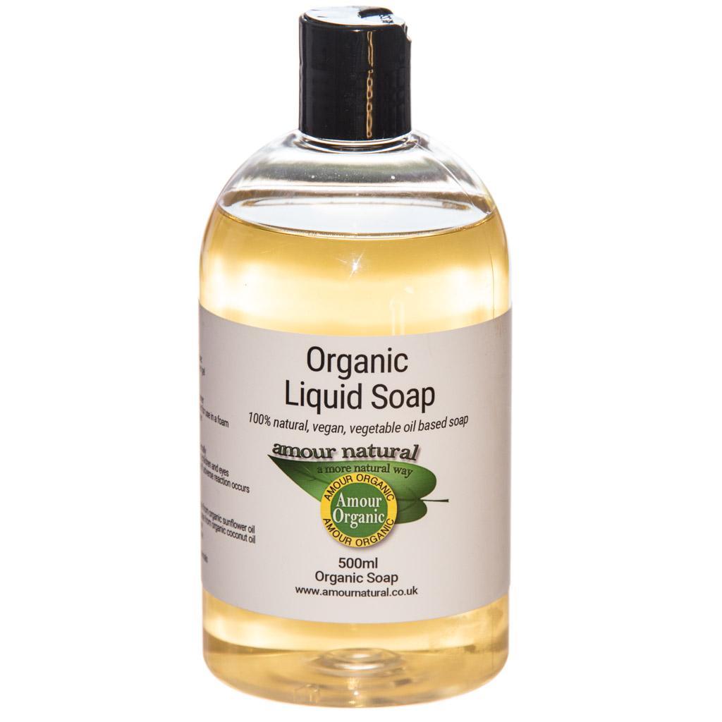 Organic Liquid Soap 500ml