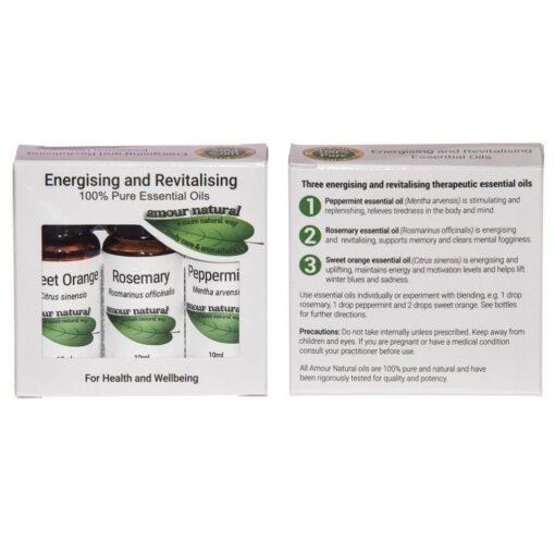 Energising and Revitalising Set of 3 x 10ml