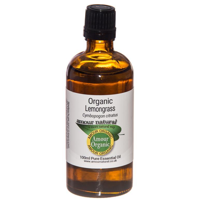Organic Lemongrass Essential Oil 100ml