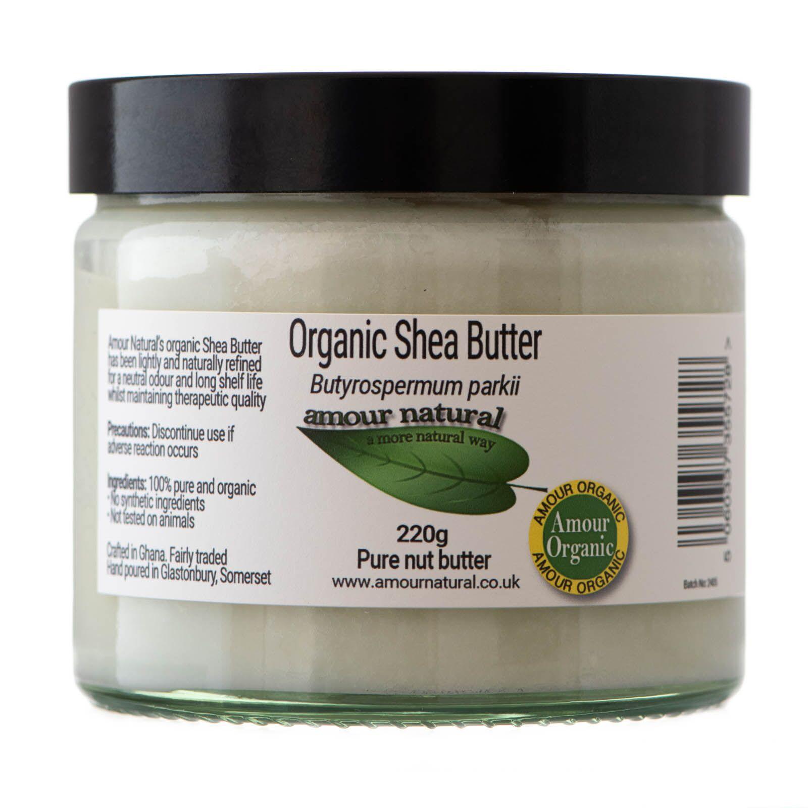 Organic Shea Butter 220g