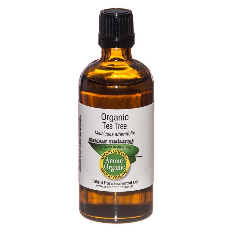 Organic Tea Tree Essential Oil 100ml