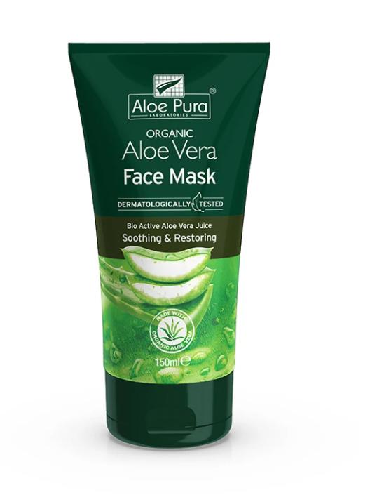 Aloe Vera Face Mask (Organic) 150ml