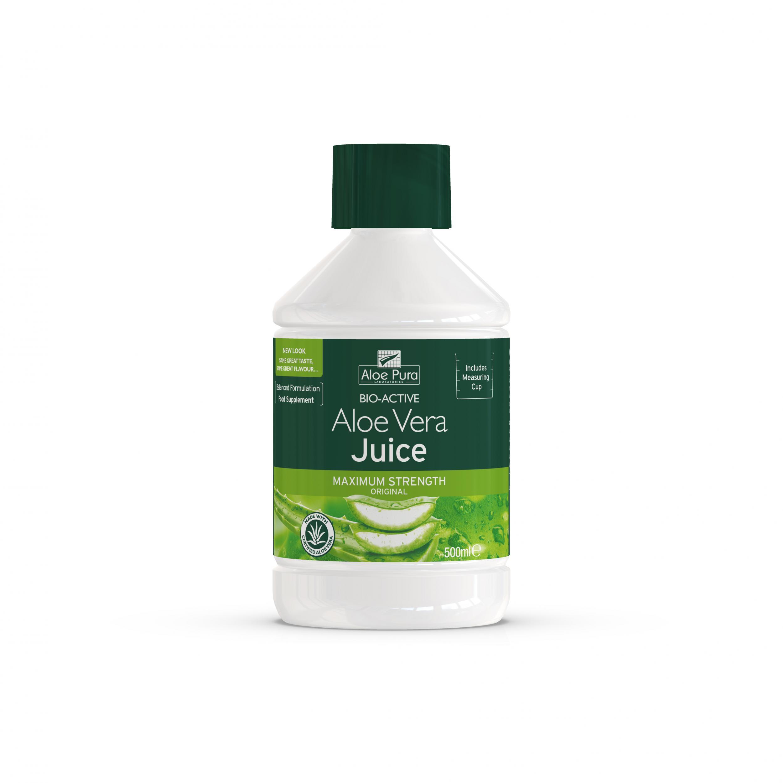 Aloe Vera Juice Maximum Strength Original 500ml