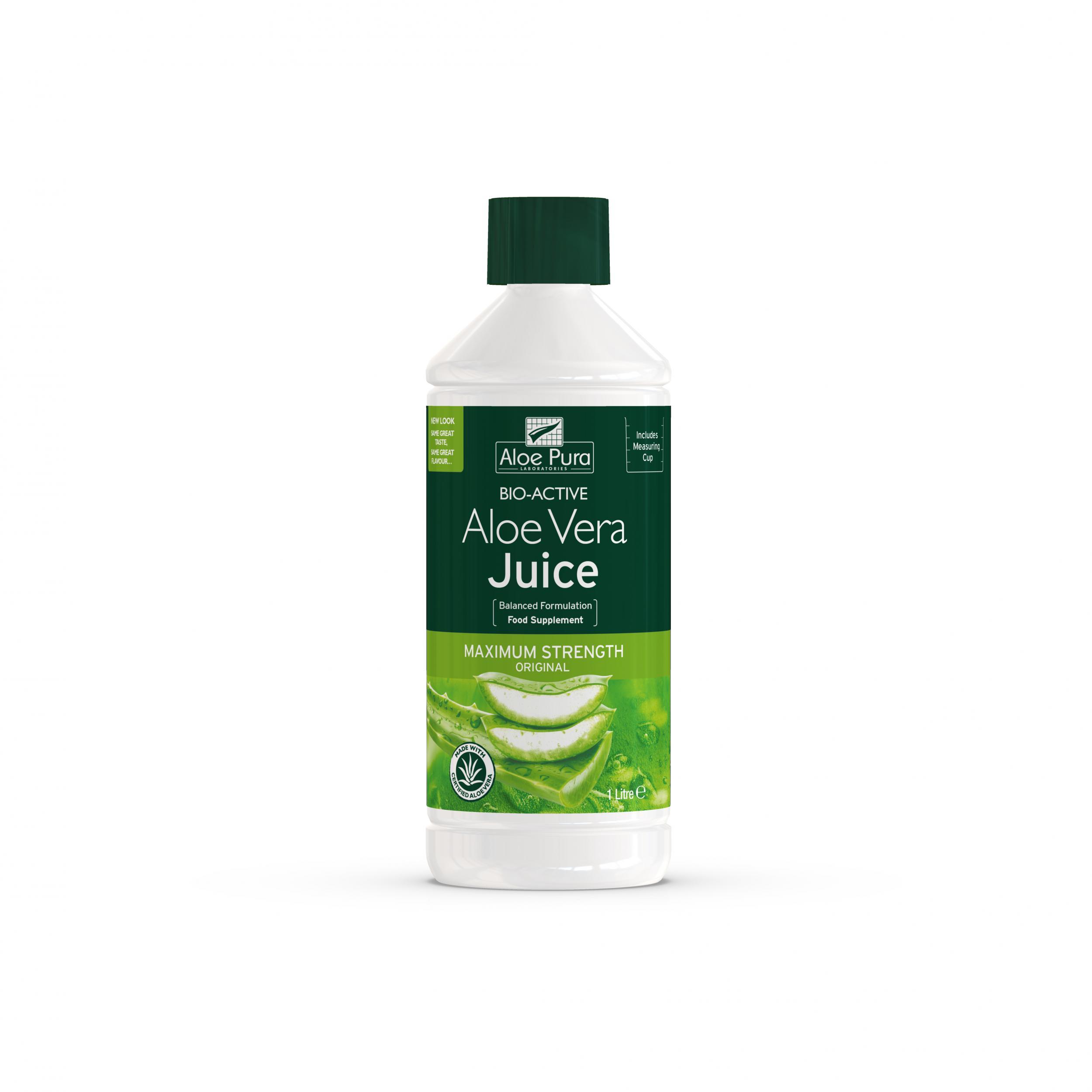 Aloe Vera Juice Maximum Strength Original 1ltr