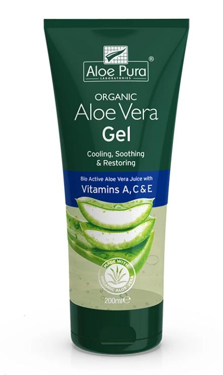 Aloe Vera Gel + Vitamins A,C & E 200ml