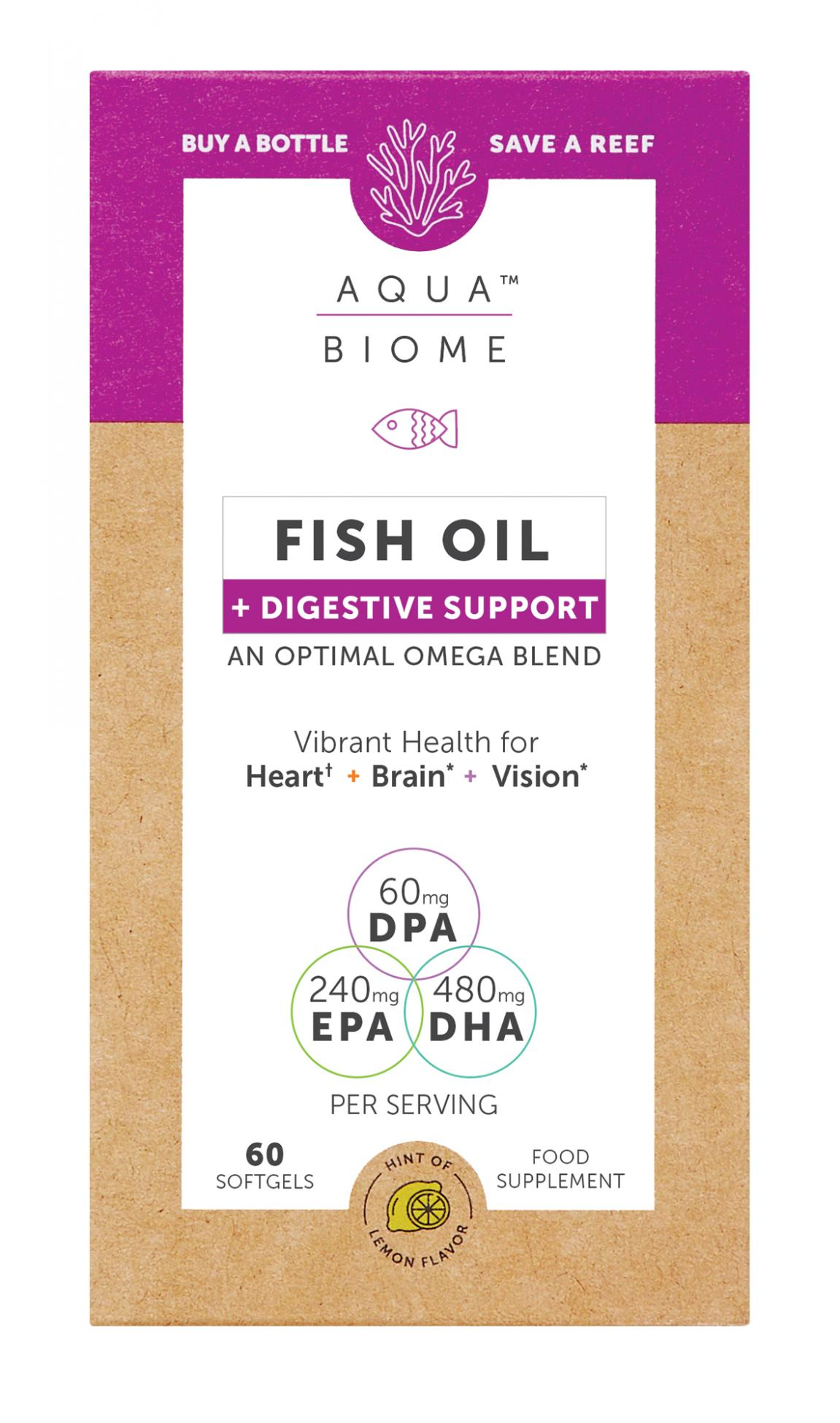 Fish Oil + Digestive Support 60's