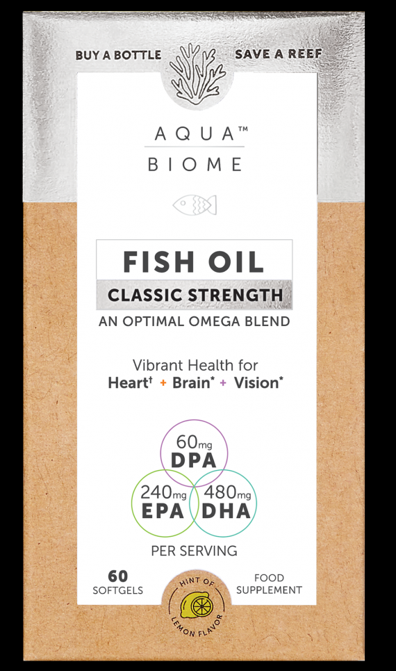 Fish Oil Classic Strength 60's