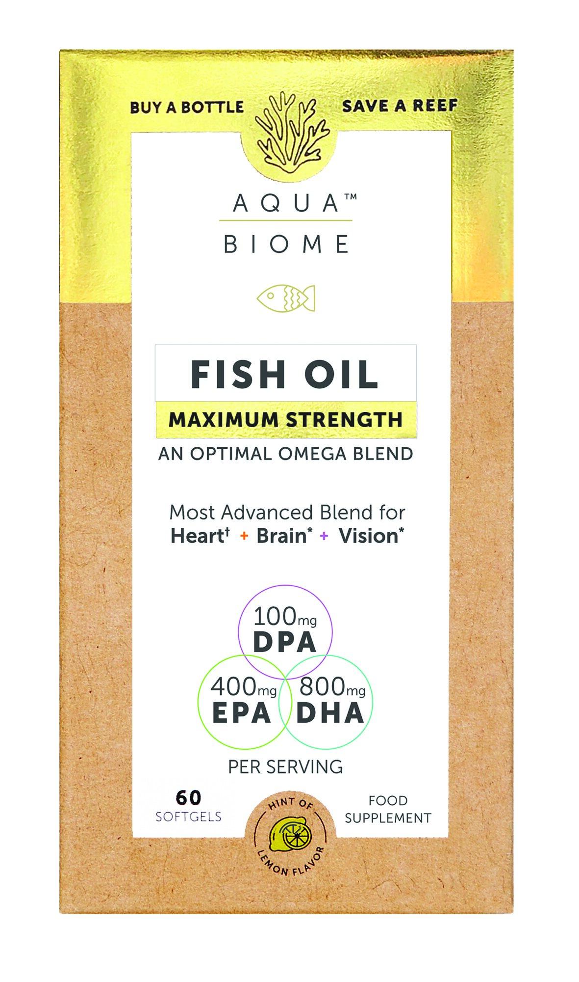 Fish Oil Maximum Strength 60's