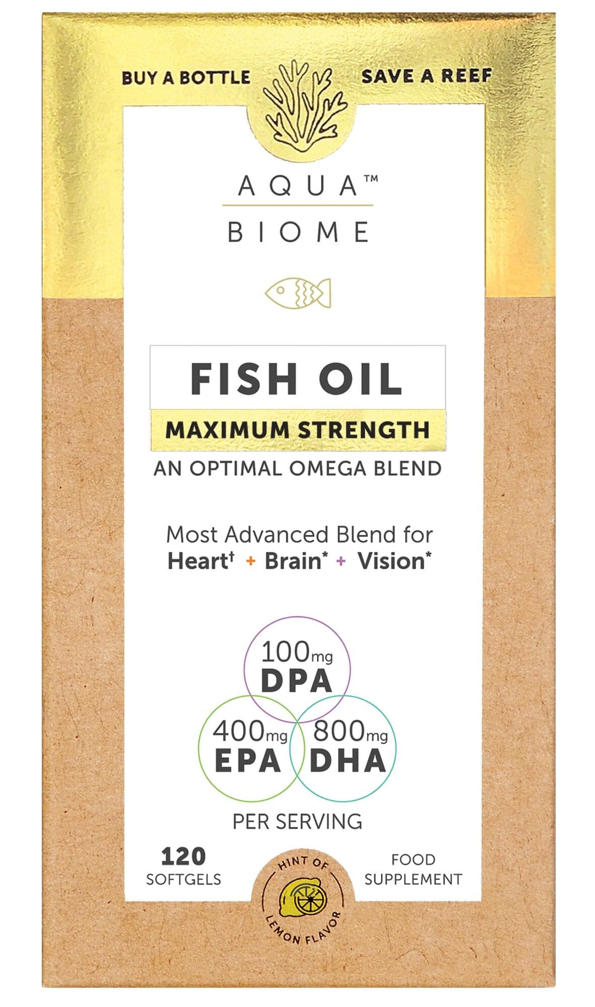 Fish Oil Maximum Strength 120's (Currently Unavailable)