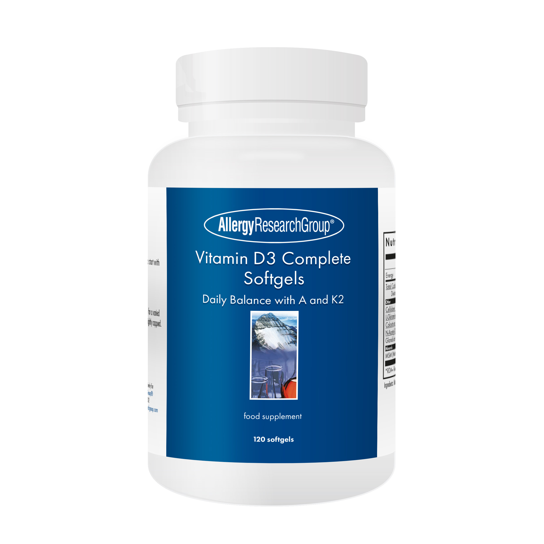 Vitamin D3 Complete Softgels 120's