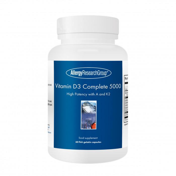 Vitamin D3 Complete 5000 (Fish Gelatin Capsules) 60's