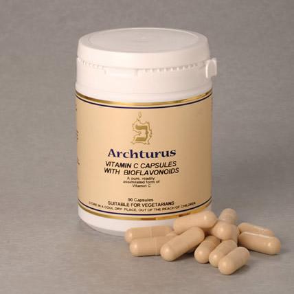 Vitamin C Capsules With Bioflavonoids 90's