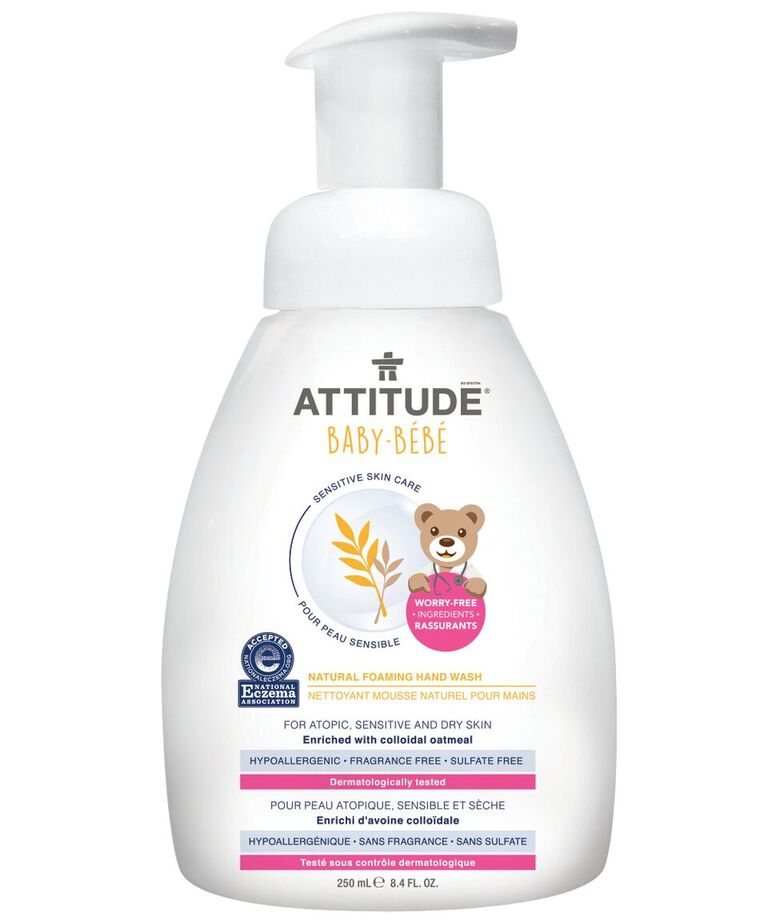 Sensitive Skin Baby Natural Foaming Hand Soap 250ml