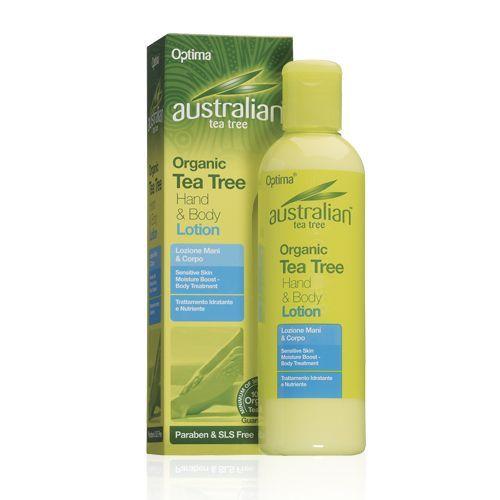 Australian Tea Tree Organic Hand and Body Lotion 250ml