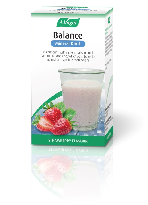 Balance Mineral Drink Strawberry Flavour in Sachet 7 x 5.5g