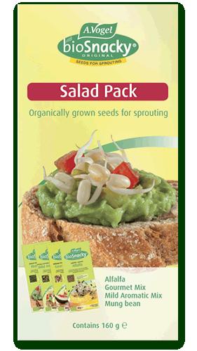 BioSnacky Salad Pack 4 Packs 160g