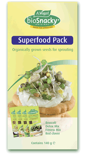 BioSnacky Superfoods Pack Seeds 4 Packs 140g